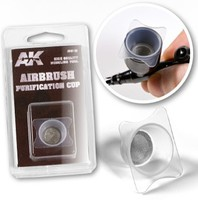 AK Airbrush Purification Cup 21mm Dia.