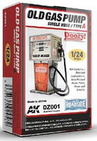 AK 1/24 Doozy Series- Interstate Old-Type Gas Pump w/Single Hose (Resin)