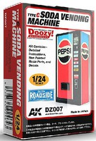 AK 1/24 Doozy Series- Pepsi Soda Vending Machine (Resin)