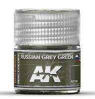AK Real Colors- Russian Grey Green Acrylic Lacquer Paint 10ml Bottle