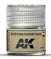 AK Real Colors- Egyptian Desert Sand Acrylic Lacquer Paint 10ml Bottle