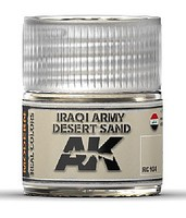 Real Colors- Iraqi Army Desert Sand Acrylic Lacquer Paint 10ml Bottle