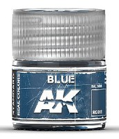 Real Colors- Blue Acrylic Lacquer Paint 10ml Bottle