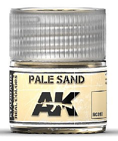 AK Interactive Real Colors- Pale Sand Acrylic Lacquer Paint 10ml Bottle