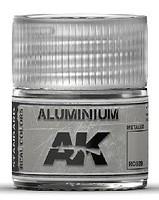 AK Real Colors- Aluminum Acrylic Lacquer Paint 10ml Bottle