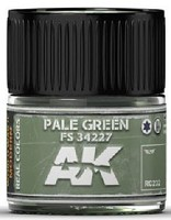 AK Real Colors- Pale Green FS34227 Acrylic Lacquer Paint 10ml Bottle