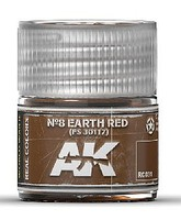 AK Real Colors- N8 Earth Red FS30117 Acrylic Lacquer Paint 10ml Bottle