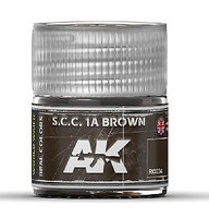 AK Real Colors- SCC 1A Brown Acrylic Lacquer Paint 10ml Bottle