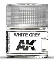 AK Real Colors- White Grey Acrylic Lacquer Paint 10ml Bottle4
