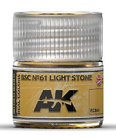AK Real Colors- BSC N61 Light Stone Acrylic Lacquer Paint 10ml Bottle