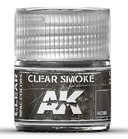 AK Real Colors- Clear Smoke Acrylic Lacquer Paint 10ml Bottle