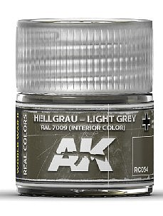 AK Real Colors- Light Grey RAL7009 (Interior) Acrylic Lacquer Paint 10ml Bottle