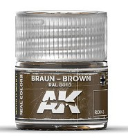 AK Real Colors- Brown RAL8010 Acrylic Lacquer Paint 10ml Bottle