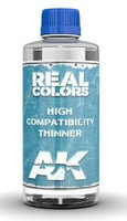 AK Real Colors- High Compatibility Thinner 200ml Bottle