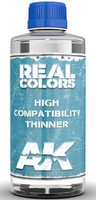 AK Real Colors- High Compatibility Thinner 400ml Bottle
