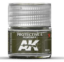 AK Real Colors- Protective K Acrylic Lacquer Paint 10ml Bottle