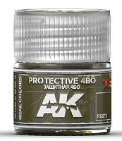 AK Real Colors- Protective 4BO Acrylic Lacquer Paint 10ml Bottle
