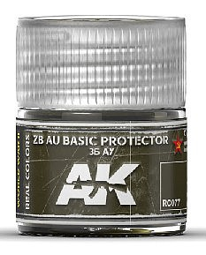 AK Interactive Real Colors- ZB AU Basic Protector 36 A7 Acrylic Lacquer Paint 10ml Bottle