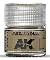 AK Real Colors- UAE Sand Dull Acrylic Lacquer Paint 10ml Bottle