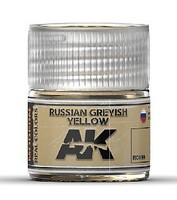 AK Real Colors- Russian Greyish Yellow Acrylic Lacquer Paint 10ml Bottle