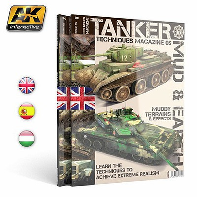 AK Interactive Tanker Magazine Issue 4- Mud & Earth
