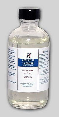 Alclad 4oz. Bottle Clear Enamel Base Hobby and Model Enamel Paint #303