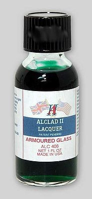 Alclad 1oz. Bottle Armored Glass Tint Lacquer Hobby and Model Lacquer Paint #408