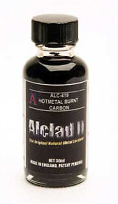 Alclad 1oz. Bottle Hot Metal Burnt Carbon Lacquer