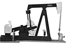 Alexander Lufkin Oil Pump - Kit O Scale Model Railroad Building Accessory #430