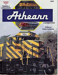 A Line Product Athearn Repowering Book -- Model Railroading Book -- #12051
