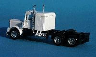 A Line Product Sleeper For American Semi Tractors - Small - Short -- HO Scale Model Railroad Vehicle -- #50010