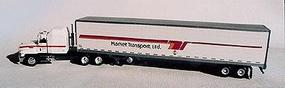 A-Line Single 53 Reefer Trailer - Market Transport HO Scale Model Railroad Vehicle #50510