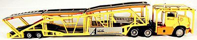 A Line Product Auto Transport Trailer - Kit - Undecorated -- HO Scale Model Railroad Vehicle -- #50605