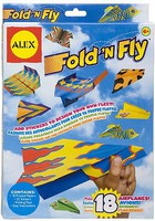 Alex Alex- Fold 'N Fly Paper Airplanes Set (18)