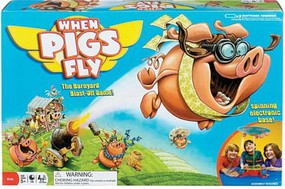 Ideal- When Pigs Fly Barnyard Blast-Off Game
