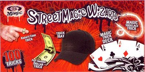 Alex Ideal- Street Magic Wizard Set (100 Tricks)