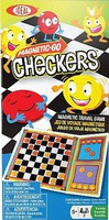 Ideal- Magnetic-Go Checkers Travel Game