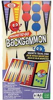 Alex Ideal- Magnetic-Go Backgammon Travel Game