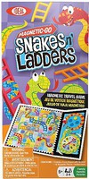 Alex Ideal- Magnetic-Go Snakes N Ladders Travel Game