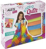Alex Alex DIY- Knot A Quilt Fleece Blanket Kit