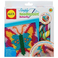 Alex Alex DIY- Simply Needlepoint Butterfly
