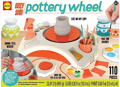 Alex Alex- Easy Spin Pottery Wheel w/Foot Pedal
