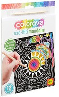 Alex Alex- Colorave Scra-ffiti Mandals Scratch Art Coloring Kit