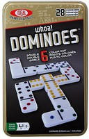 Alex Ideal- Double 6 Dominoes Basic Game in Tin