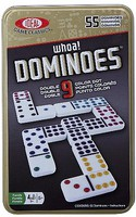 Alex Ideal- Double 9 Dominoes Basic Game in Tin