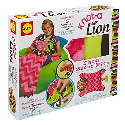 Alex Alex DIY- Knot A Lion Fleece Blanket Kit