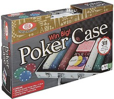 Alex Ideal- Win Big Poker Case w/311 Piece Set
