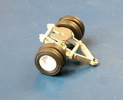 Alloy-Forms Fifth Wheel Dolly - Single Axle HO Scale Model Railroad Vehicle #3079