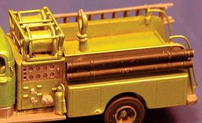 Alloy-Forms Generic Fire Pumper, Body Only HO Scale Model Railroad Vehicle #3086