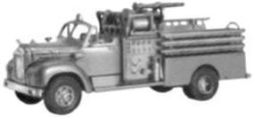Alloy-Forms Mack B61 2-Axle Pumper with Open Cab HO Scale Model Railroad Vehicle #3136